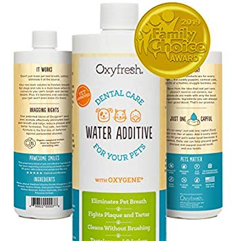 water additives for dog's teeth health