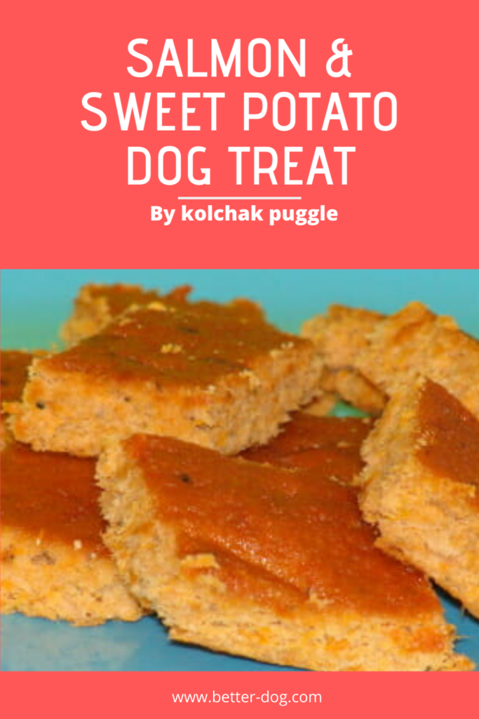 salmon and potato dog treat recipe